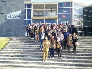 Grupo completo en ECAM